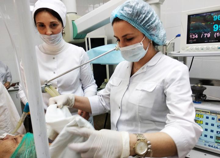 Центр анестезиологии и реанимации