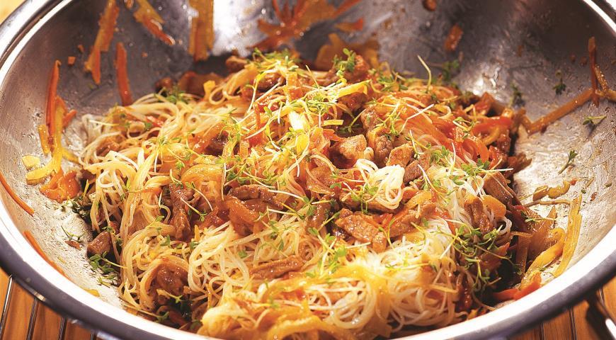 Вермишель фунчоза - что это такое: интересные рецепты приготовления, польза вермишели