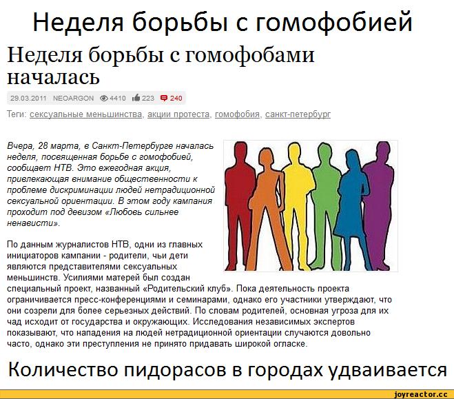 Что такое гомофобия, из-за чего возникает и как лечить заболевание?