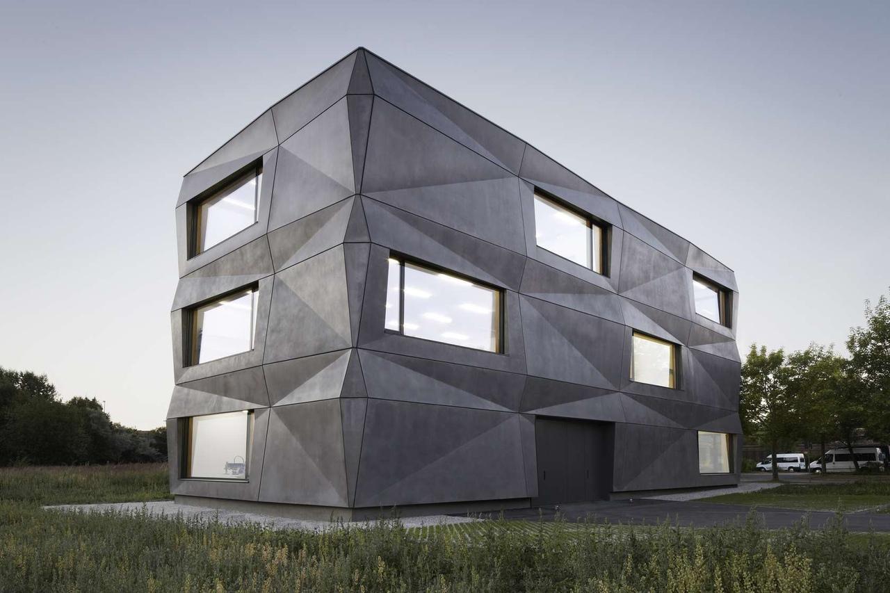 Фасад здания: подборка фото современных вентфасадов ?