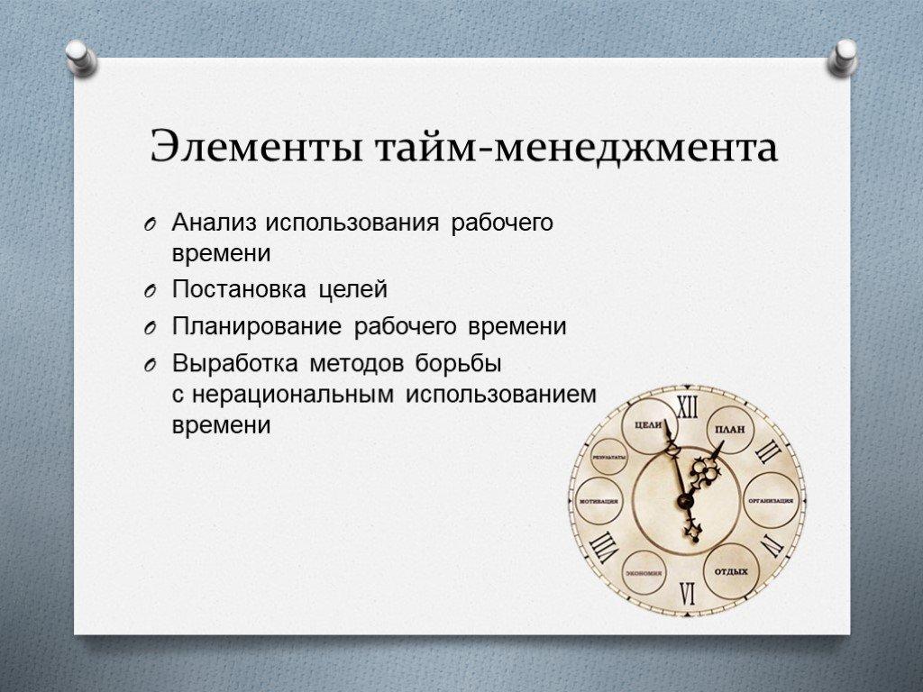 Тайм-менеджмент: управление временем. главные принципы