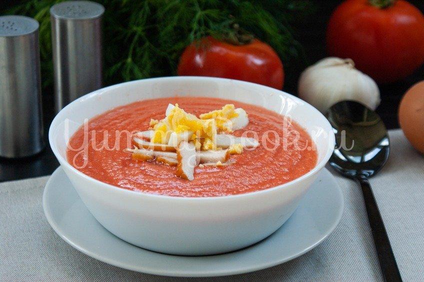 Сальморехо (суп из помидоров) рецепт с фото - 1000.menu