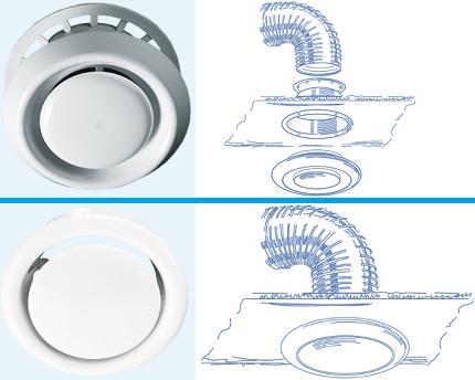 Применение вытяжных анемостатов – конструкция, роль, характеристики