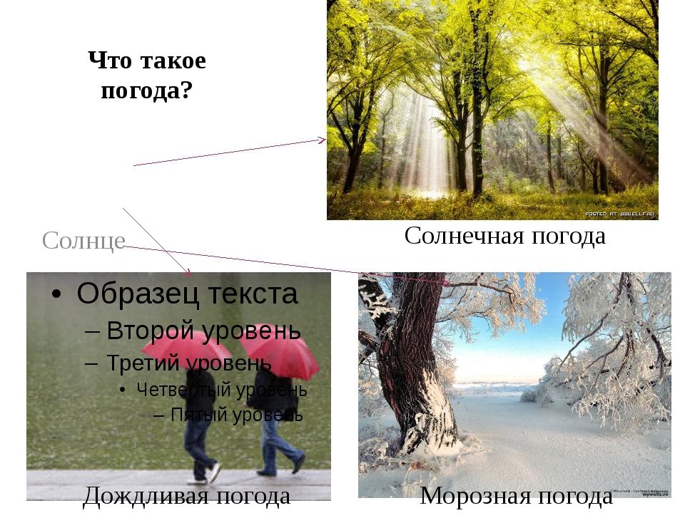 Погода - классификация, критерии и характеристики