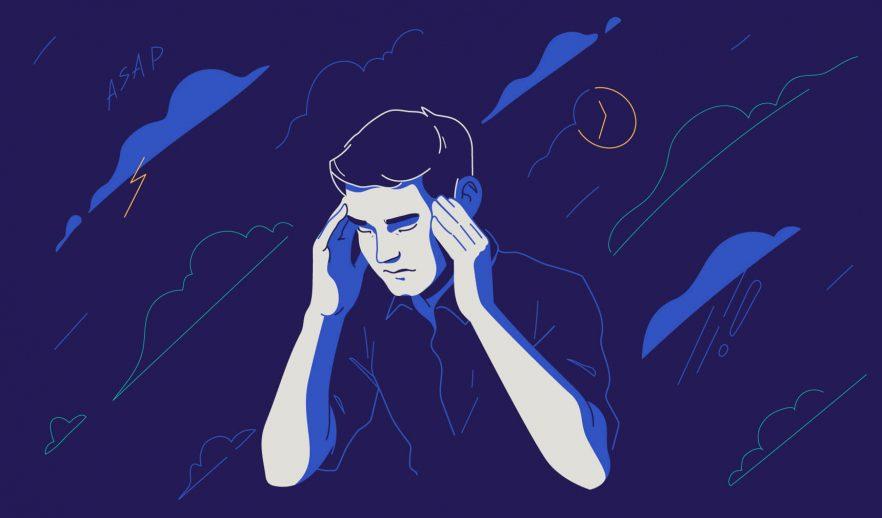 Чувство тревоги ибеспокойства безпричины