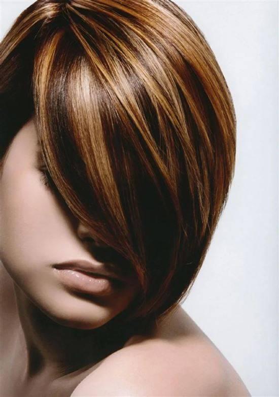Варианты колорирования волос блонд