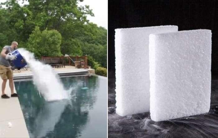 Эксперимент «сухой лед»