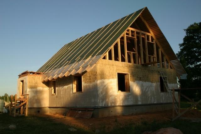 Саманное строительство. саманный дом