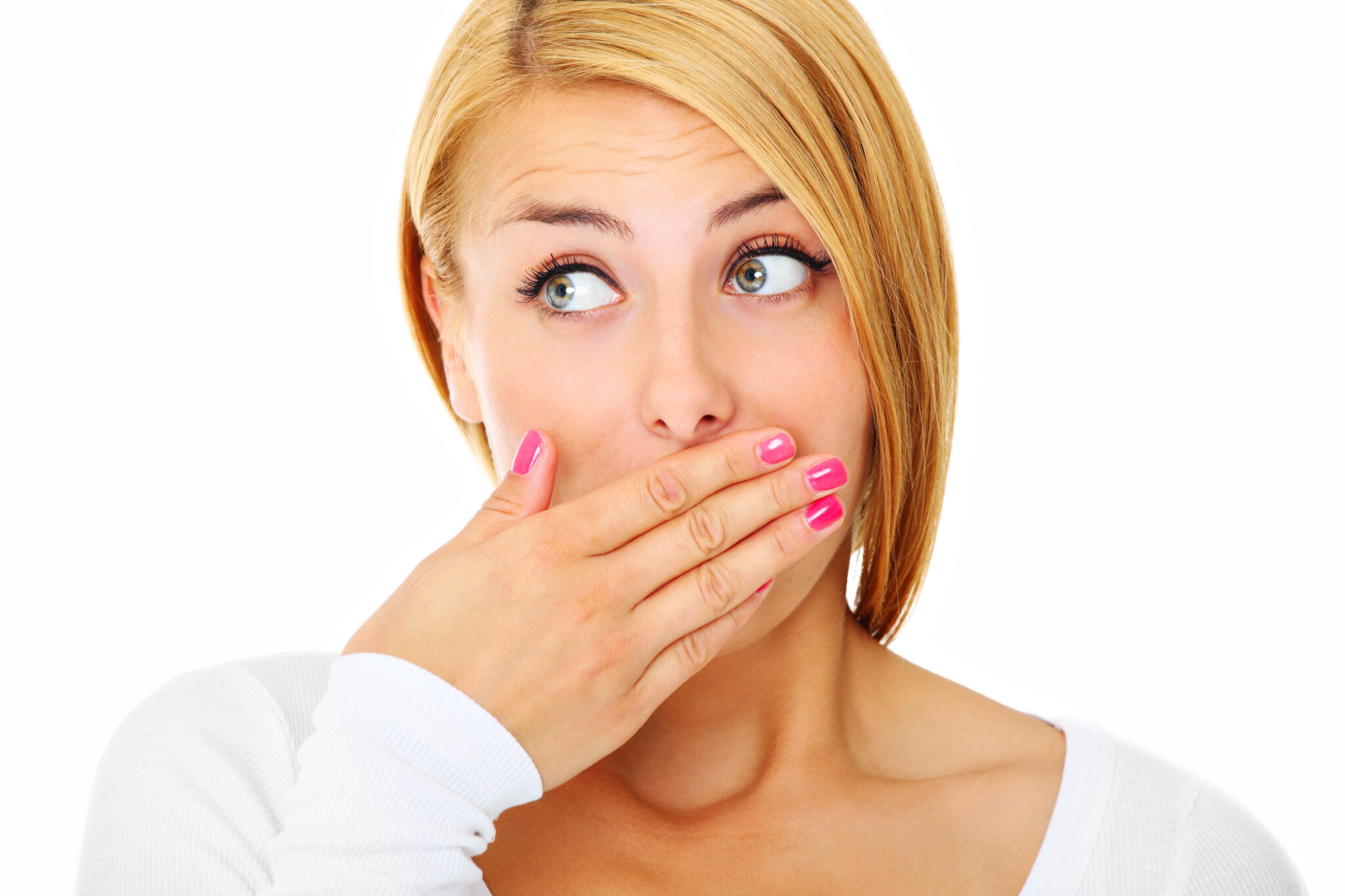 Неприятный запах изо рта (галитоз): причины, виды и способы борьбы - много зубов
