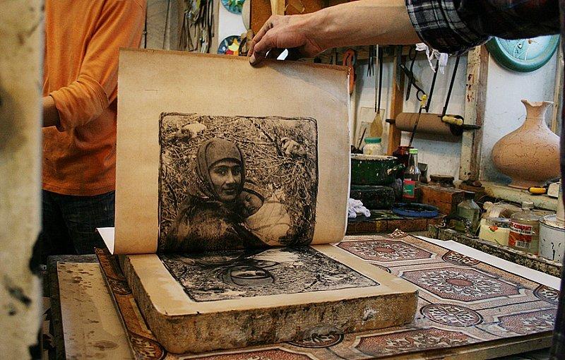 Литография. искусство, прошедшее сквозь века