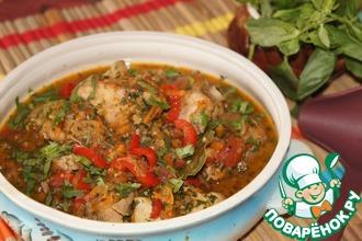 Чахохбили из курицы – кулинарный рецепт