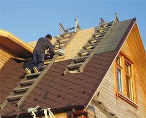 Шаг стропил двускатной крыши: зависимость шага стропил от материала кровли
