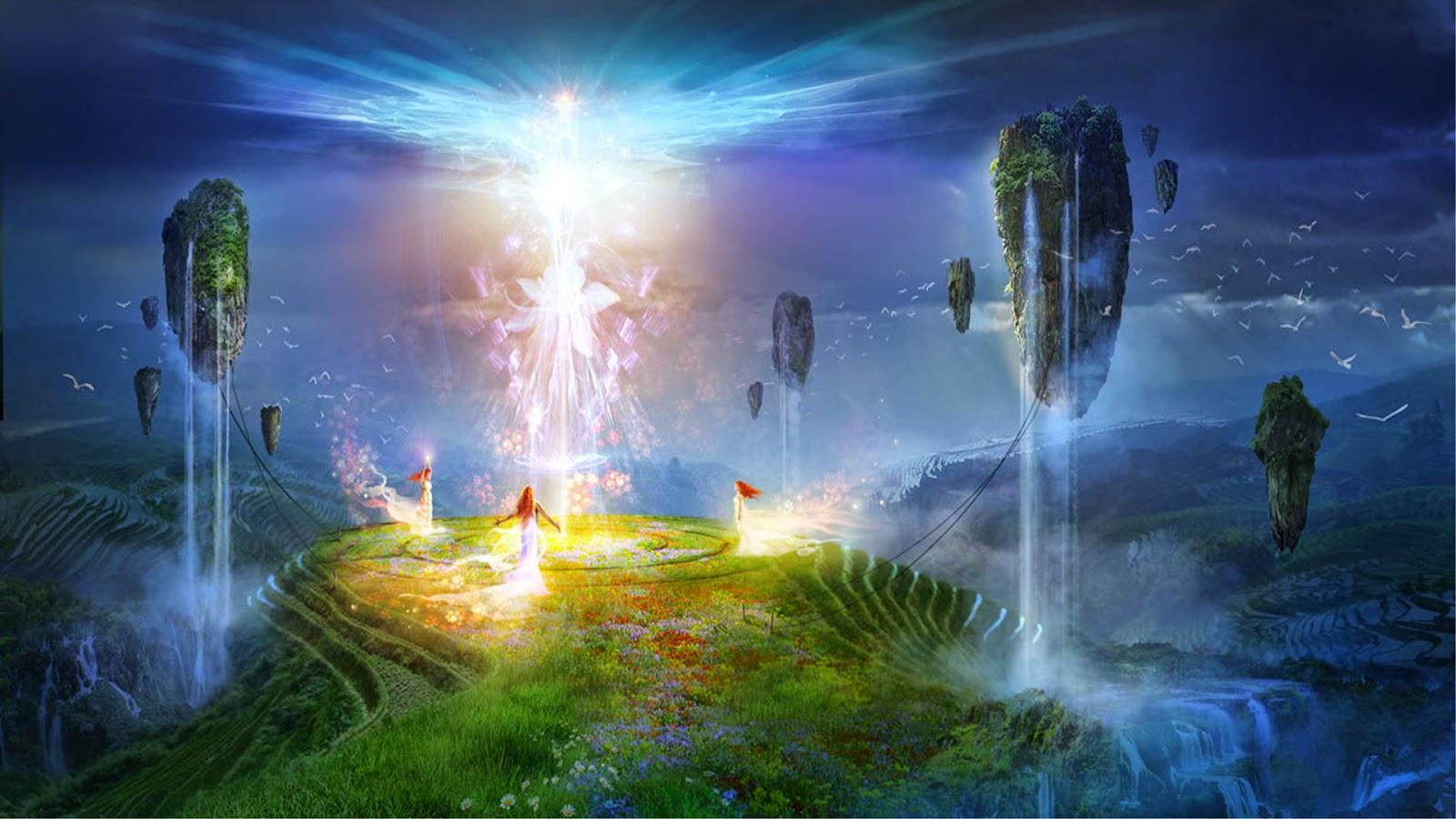 5.3.2. что представляет собой духовный мир | небесная библия (чхонсонгён), v. земная жизнь и духовный мир, 5.3. духовный мир | чхонильгук (천일국)