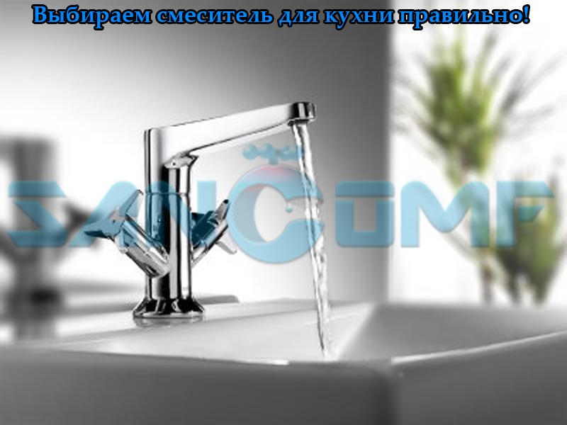 Виды смесителей для кухни: кран с двумя изливами, сенсорный, настенный, а также характеристики двухвентильных и однорычажных