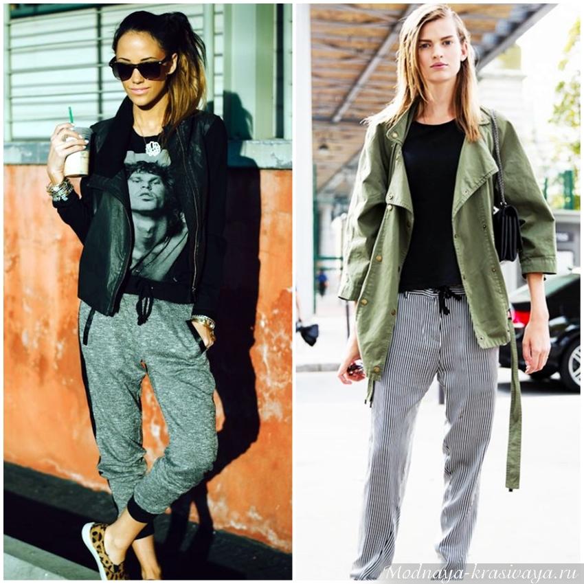 С чем носить женские джоггеры в 2020, 30 стильных образов