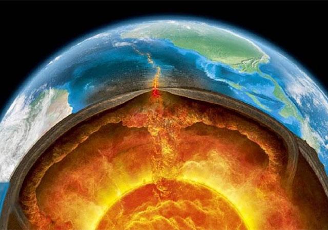 Что такое мантия земли?