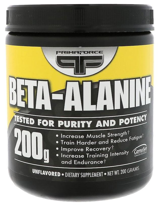 Бета-аланин – что это такое, для чего нужен организму, свойства