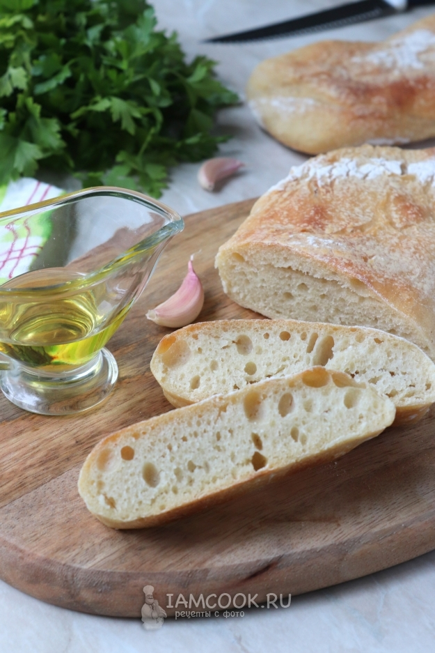 Чиабатта (40 рецептов с фото) - рецепты с фотографиями на поварёнок.ру