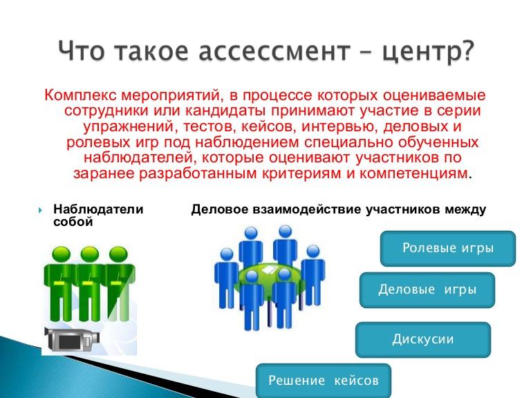 Ассессмент-центр википедия