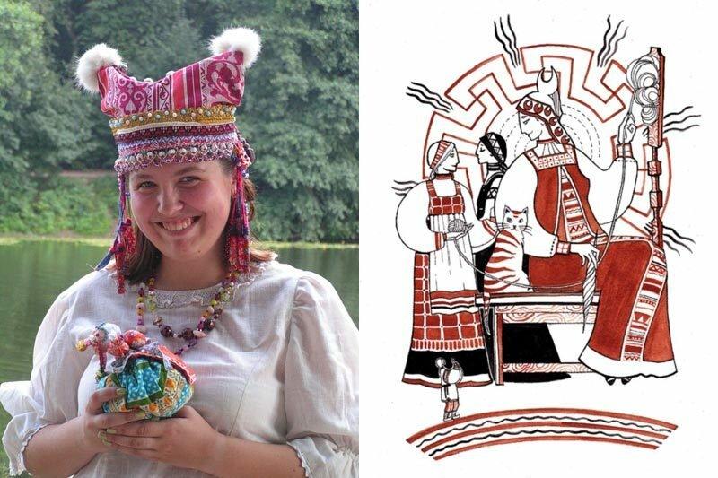 """Кика (кичка) — древнерусский женский головной убор: традиции народности, ритуальные обряды, национальная кухня, история формирования этноса - """"7к"""""""
