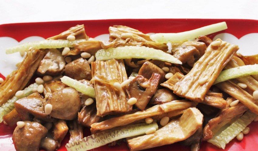Как приготовить спаржу по-корейски в домашних условиях по пошаговому рецепту - кушаем вкусно