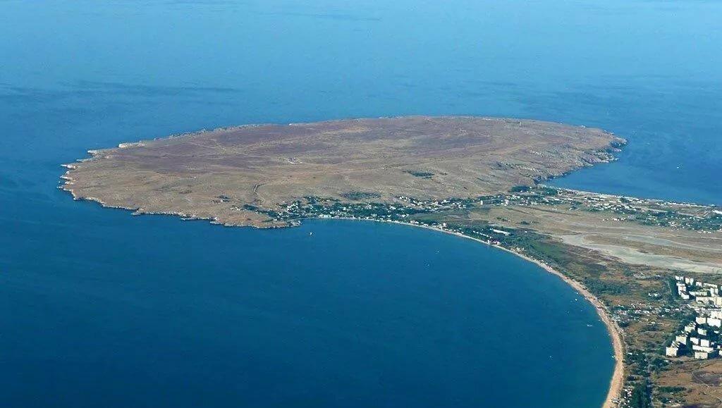 Казантип показать на карте крыма. где находится республика, пляж и остров