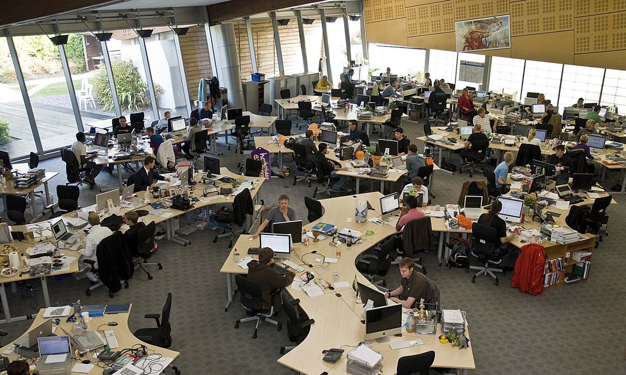 Как не сойти с ума в open space: делаем новый офис с нуля / блог компании lamoda / хабр