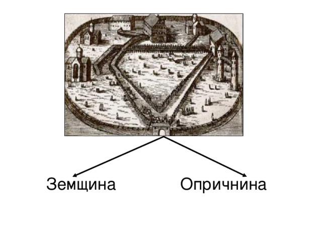 Опричнина и земщина