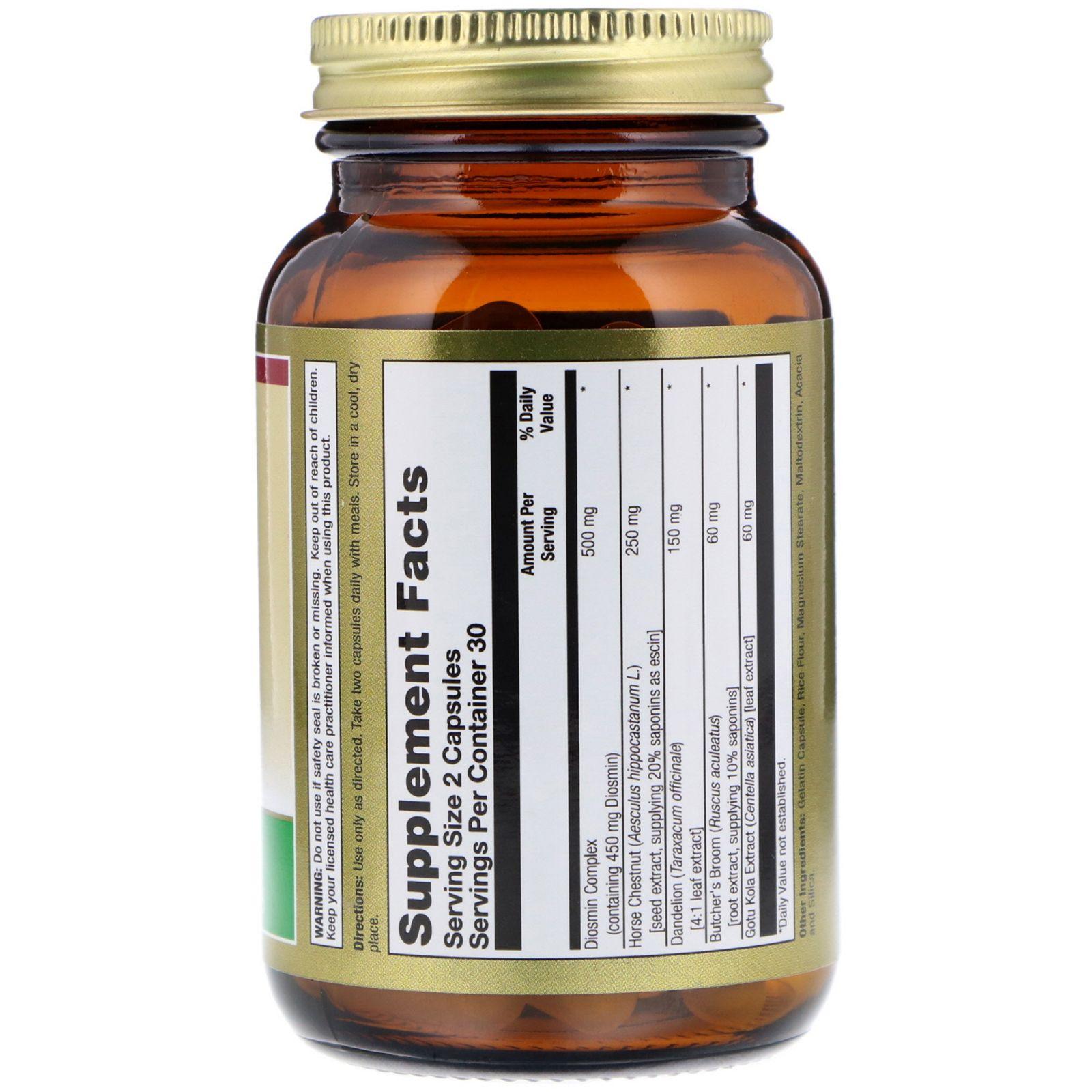 Диосмин и гесперидин – быстрая и эффективная помощь при тяжести в ногах и венозном застое
