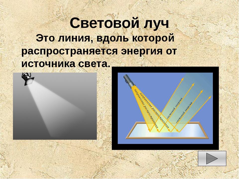 Световые лучи. законы геометрической оптики. объединение и распространение лучей