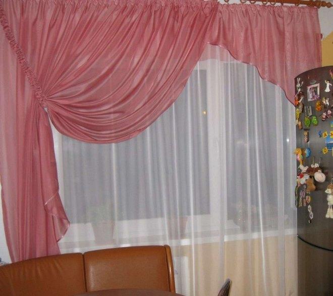 Дизайн, элементы и фото штор с ламбрекеном