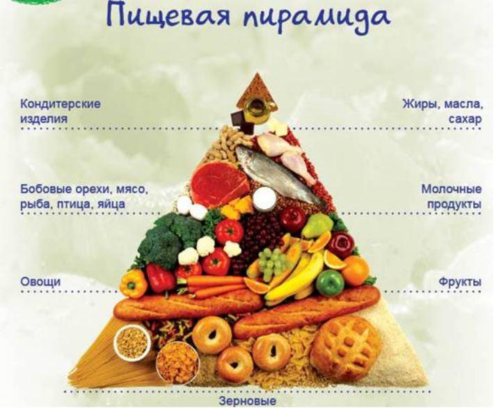 Что такое пирамида здорового питания (пищевая пирамида) и ее основные принципы