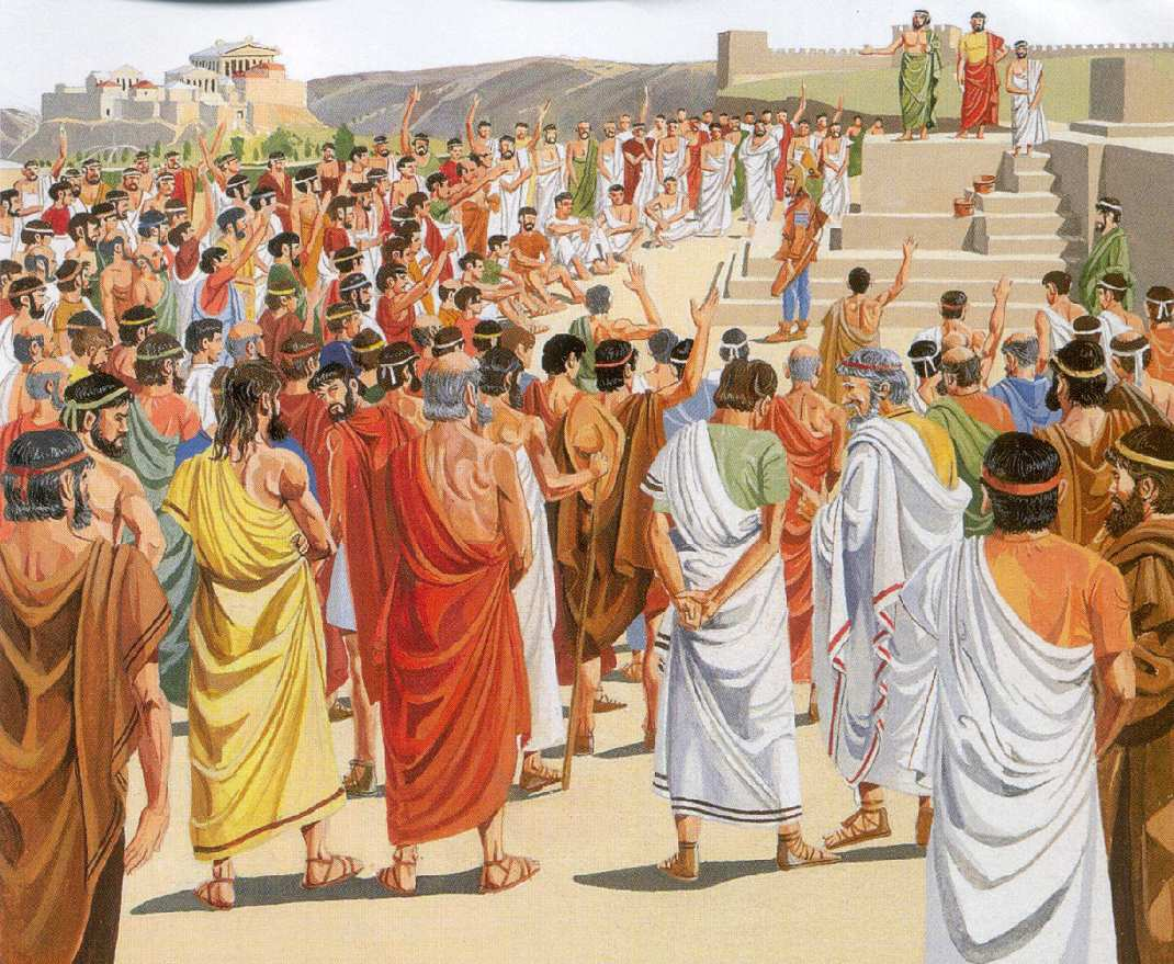Остракизм, или суровая афинская демократия