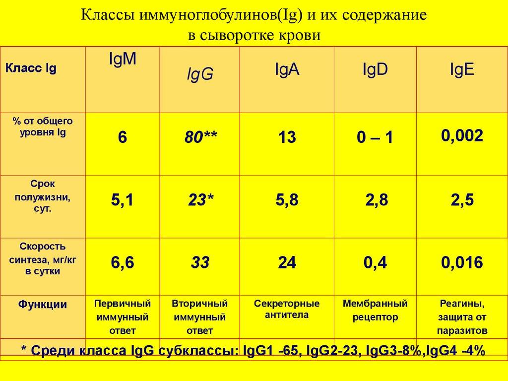 Иммуноглобулин е - описание анализа