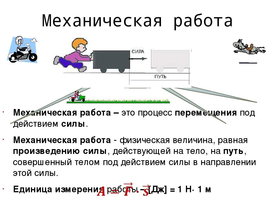Механическая работа — википедия с видео // wiki 2