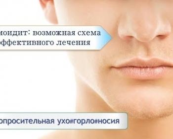 Этмоидит, симптомы и лечение этмоидита у взрослых и детей