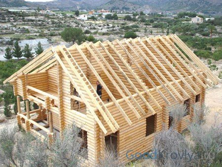 Стропильная система двухскатной крыши своими руками: обзор конструкций висячего и наслонного типа