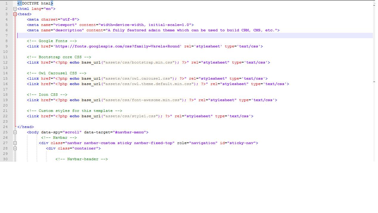 Новые структурные теги html5