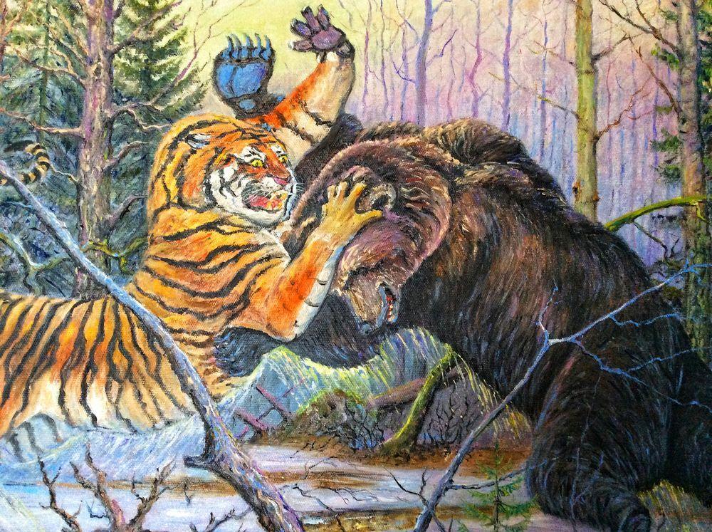 Тигр – описание, ареал, питание, подвиды, размножение, враги, фото и видео