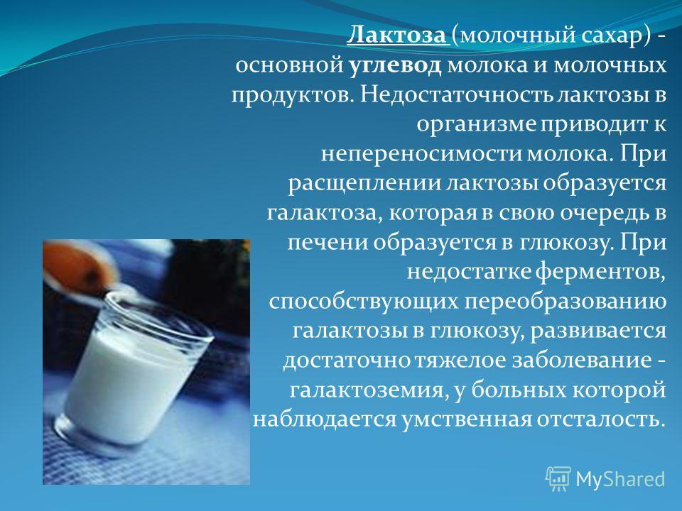 ➤ в каких продуктах содержится лактоза - здоровый образ жизни