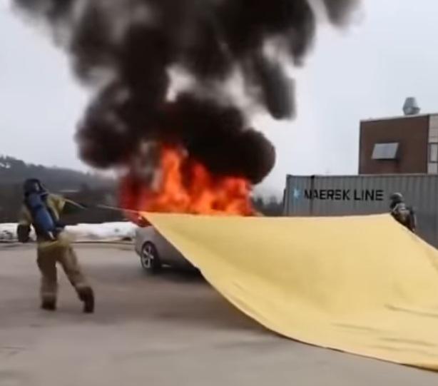 Противопожарное полотно или кошма: размеры и характеристики
