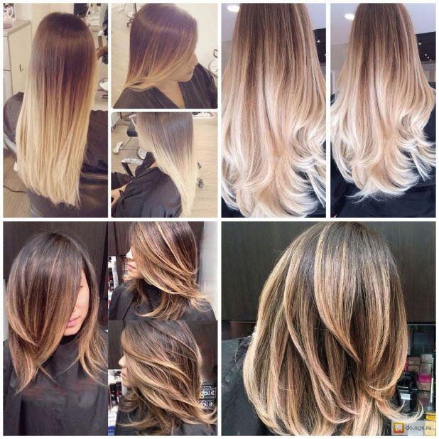 Омбре на русые волосы: особенности, виды, подбор оттенка