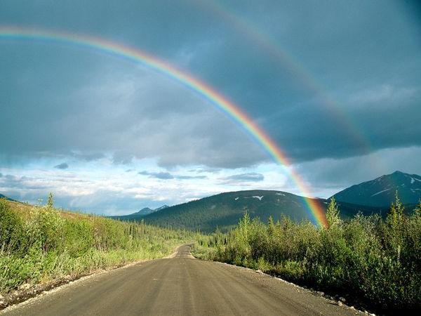 Почему радуга разноцветная? объяснение для первоклассников