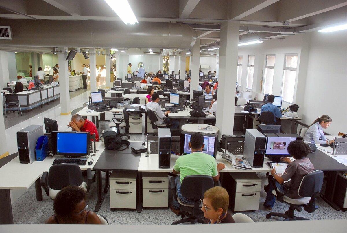 Open space в офисе — что это?