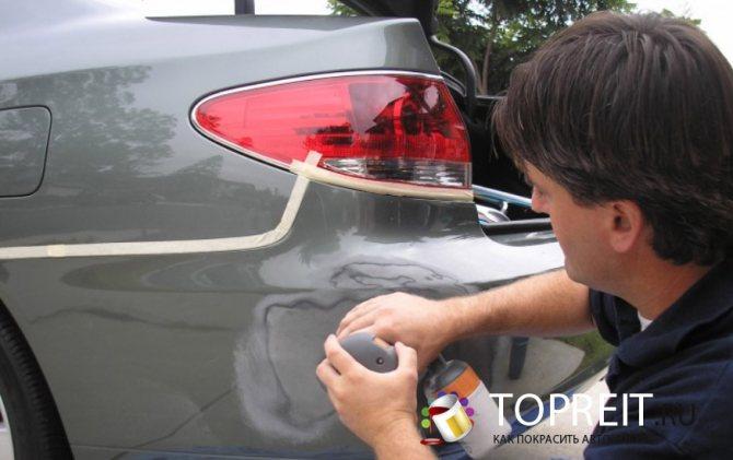 Шагрень при покраске автомобиля: причины возникновения и способы удаления.