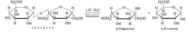 Дисахариды - химические свойства, виды, состав, применение