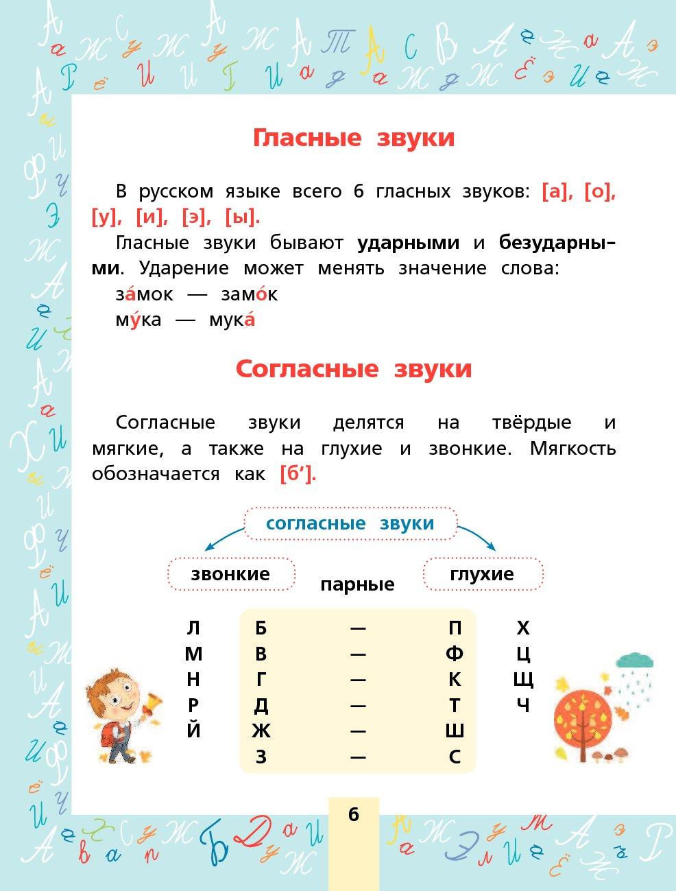 Согласные звуки и буквы, их обозначающие