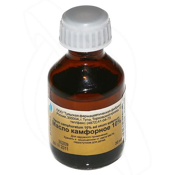 Камфорное масло: для чего применяют, способы использования