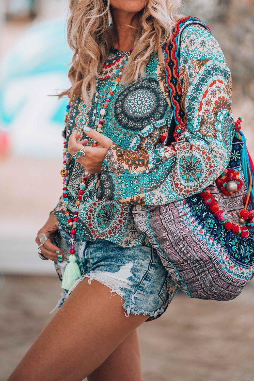 Стиль бохо в одежде 2020-2021: необычный стиль бохо шик для женщин - фото, платья в стиле бохо