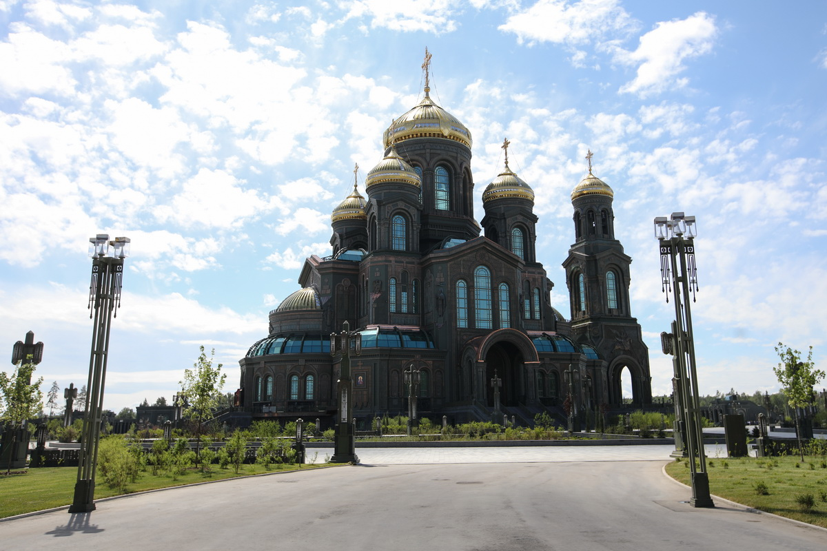 Русская православная церковь, россия - деловой квартал